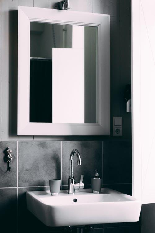 Douche spiegel